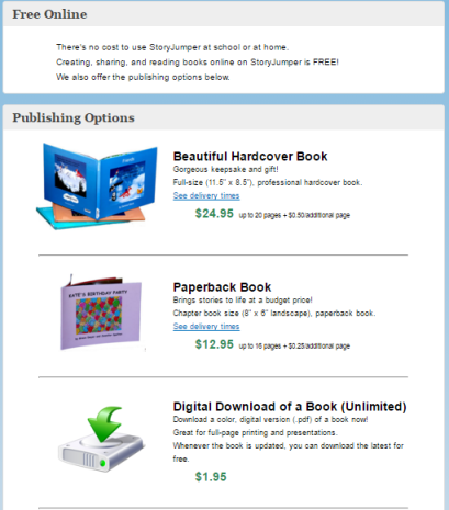 Creating storybooks blogging technopedagogy fandeluxe Choice Image